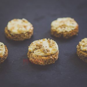 Брускети със сирене, мед и орехи/ Коктейл хапки / Кетъринг София