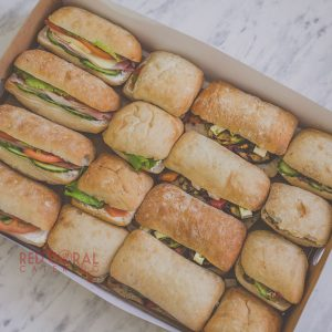 Сет от 4 вида чиабати / Сандвичи и бургери / Кетъринг София