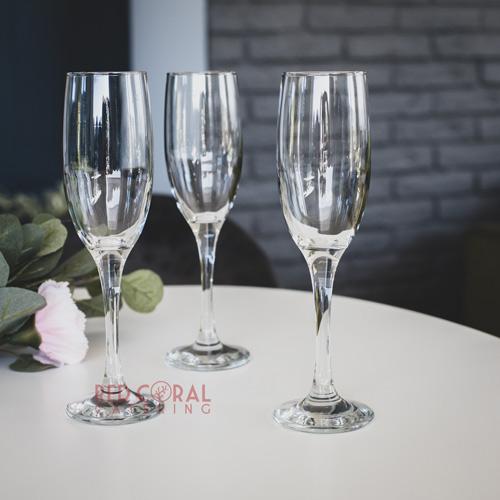 Чаши за шампанско под наем /Кетъринг оборудване под наем