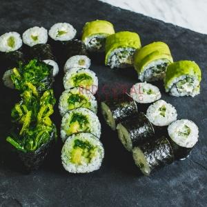 Вегетариански суши сет