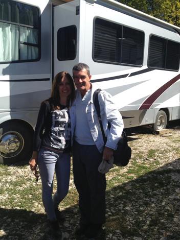 Боби и Antonio Banderas