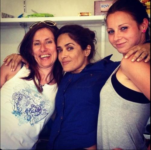 Боби, Salma Hayek и Сани